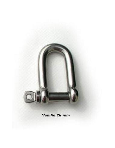 MANILLE INOX 28-63mm