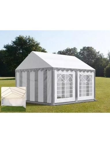 BLANC/GRIS 3 x 3m - 500gr/m²