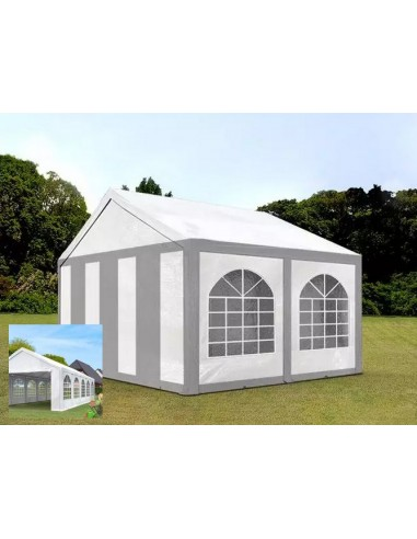 BLANC/GRIS 3 x 4m - 240gr/m²