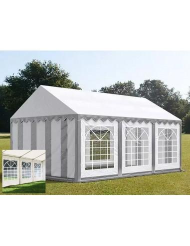 BLANC/GRIS 3 x 6m - 500gr/m²