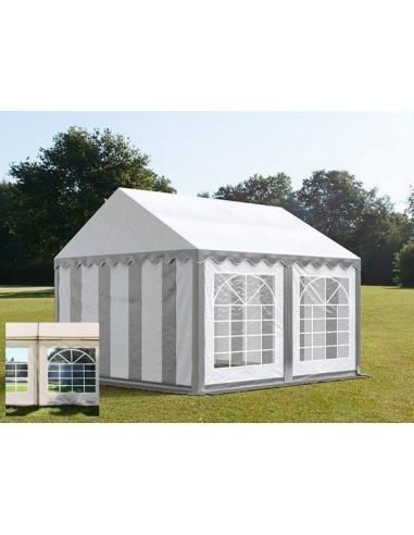 BLANC/GRIS 4 x 4m - 500gr/m²