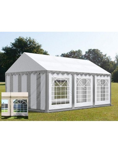 BLANC/GRIS 4 x 6m - 500gr/m²